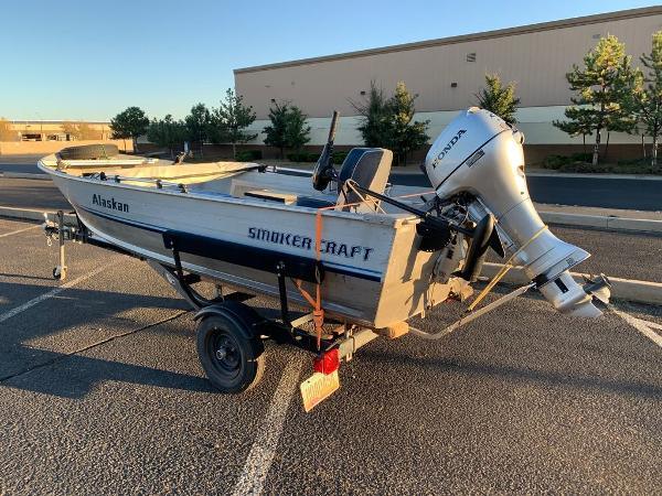 1993 Smoker Craft boat for sale, model of the boat is Alaskan 14 & Image # 1 of 14