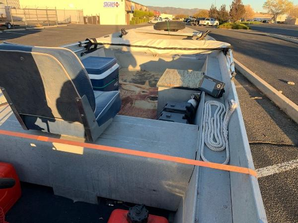 1993 Smoker Craft boat for sale, model of the boat is Alaskan 14 & Image # 4 of 14