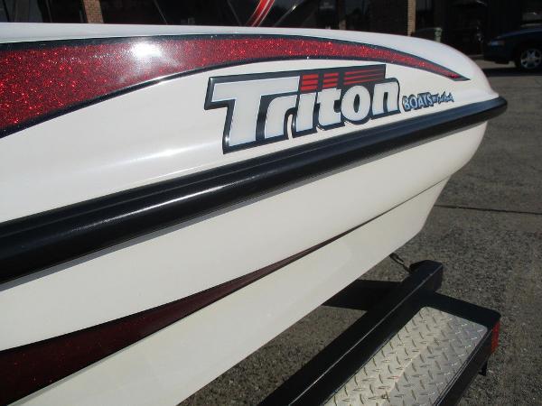 2008 Triton boat for sale, model of the boat is 17 Explorer & Image # 8 of 12