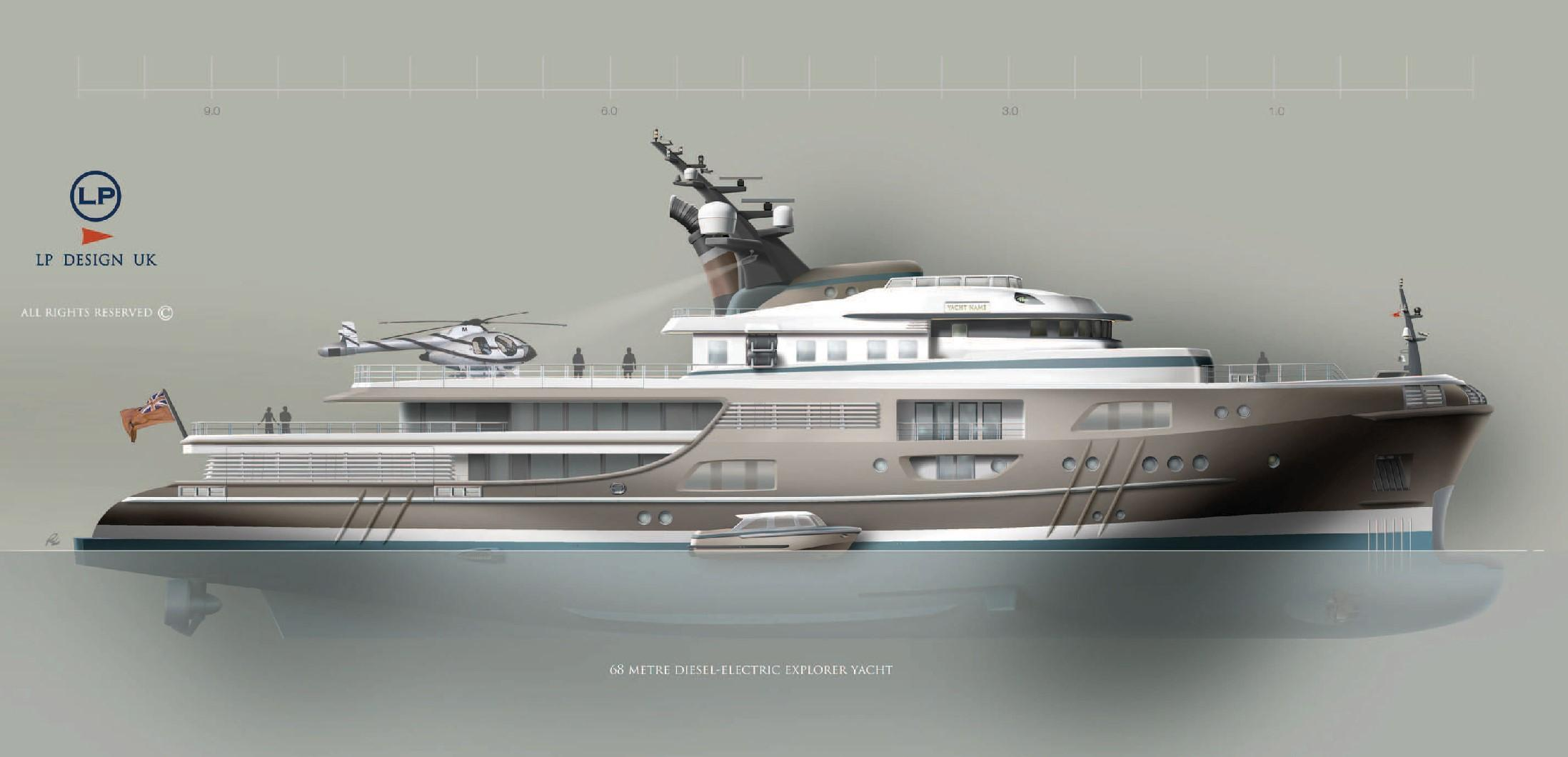 Superyacht 68m-HE-Man