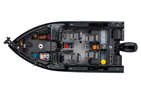 2021 Tracker Boats boat for sale, model of the boat is Targa V-19 Combo Tournament Edition & Image # 7 of 69