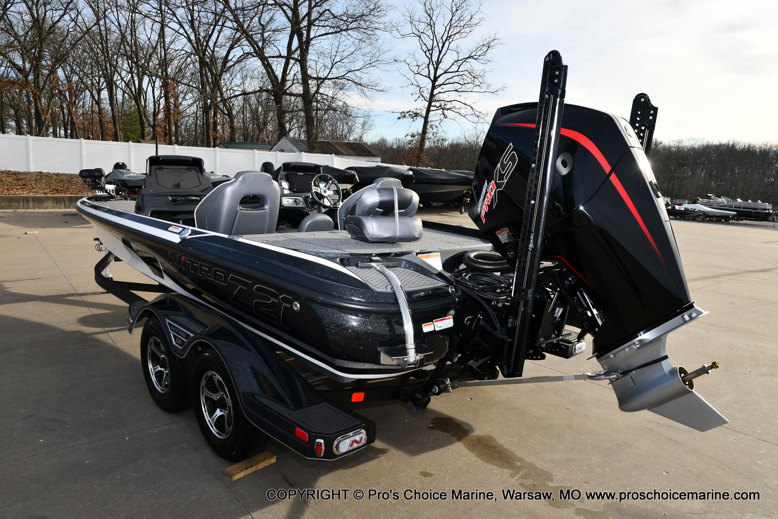 2021 Nitro boat for sale, model of the boat is Z21 Pro Package DUAL CONSOLE & Image # 17 of 50