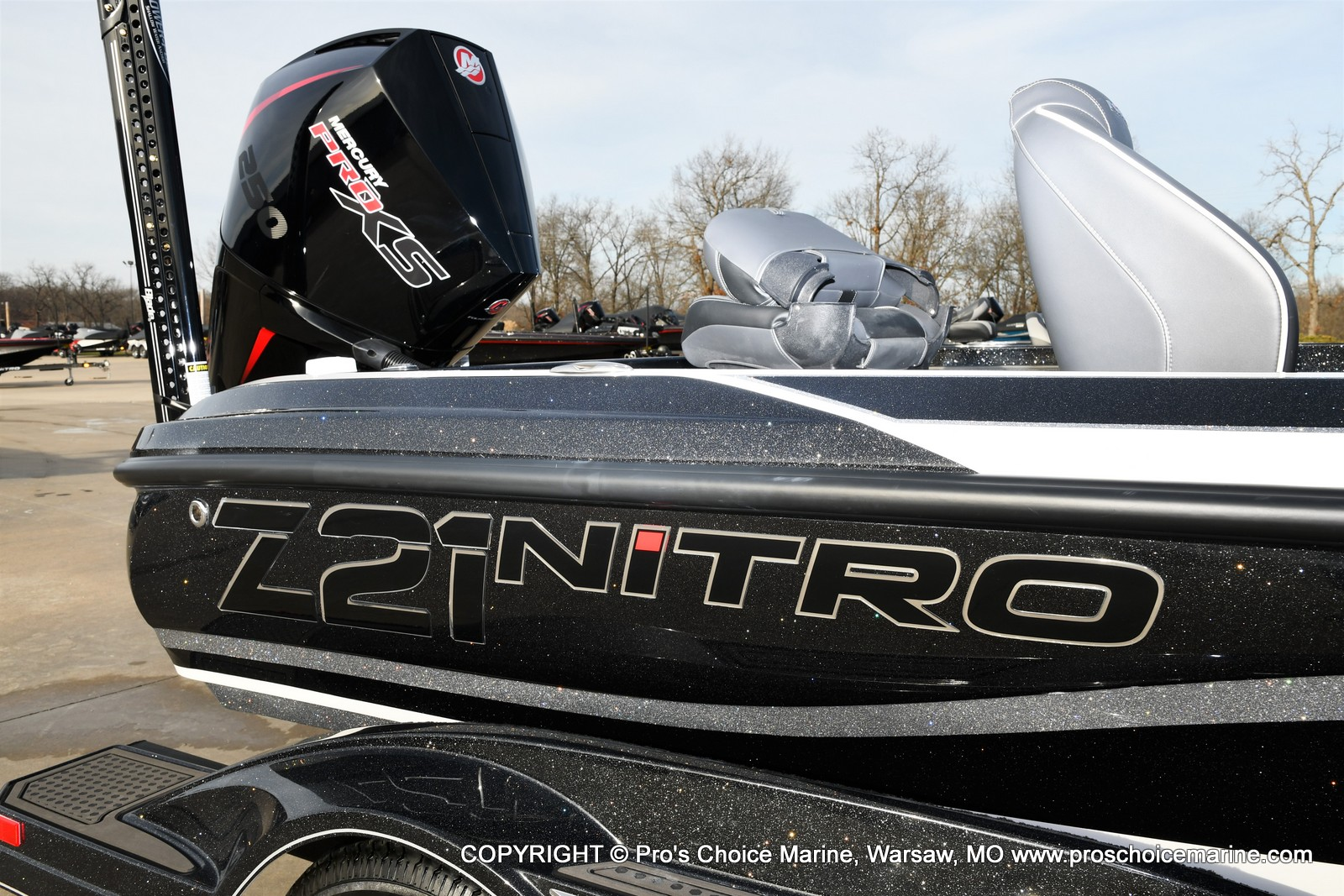 2021 Nitro boat for sale, model of the boat is Z21 Pro Package DUAL CONSOLE & Image # 16 of 50