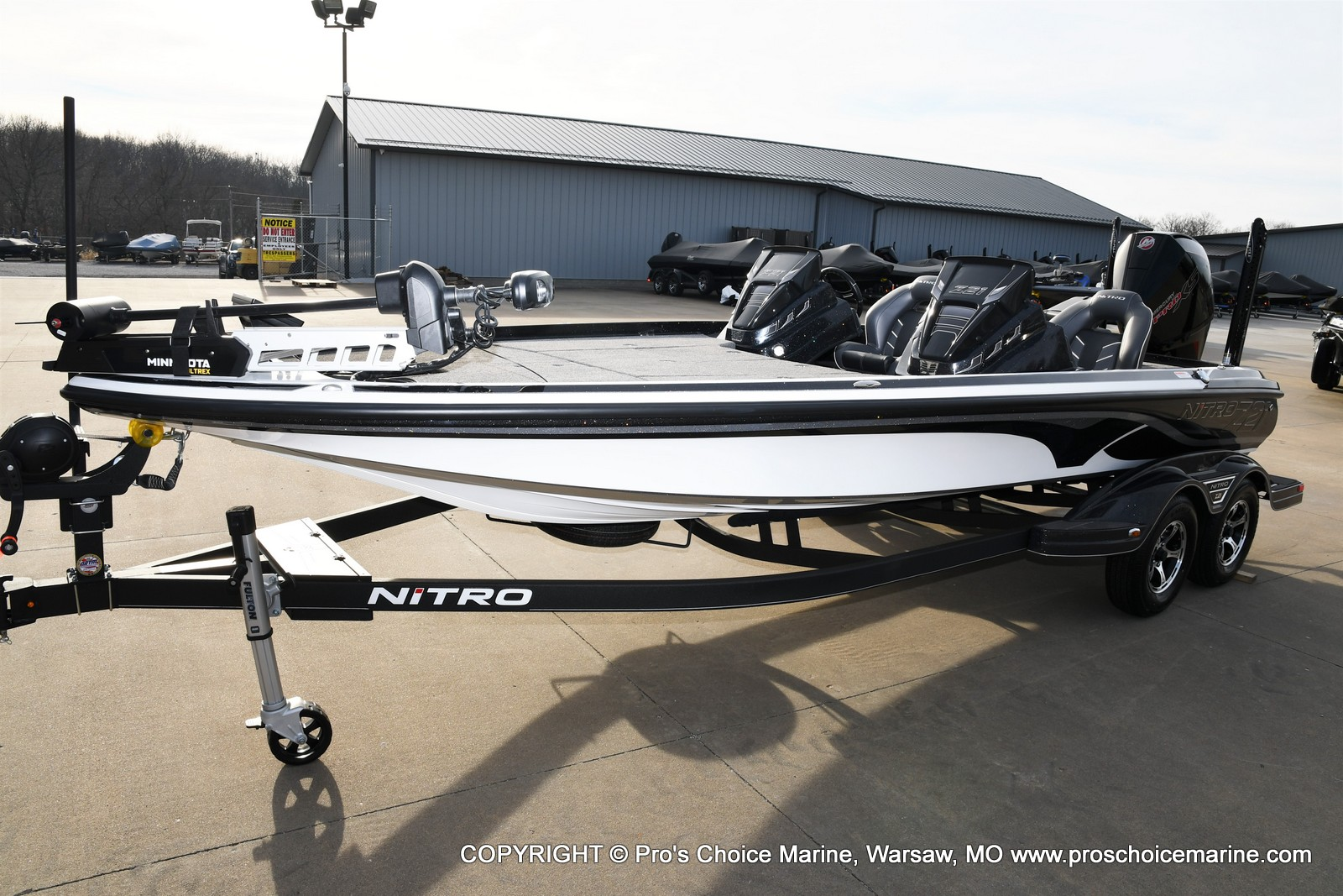 2021 Nitro boat for sale, model of the boat is Z21 Pro Package DUAL CONSOLE & Image # 30 of 50