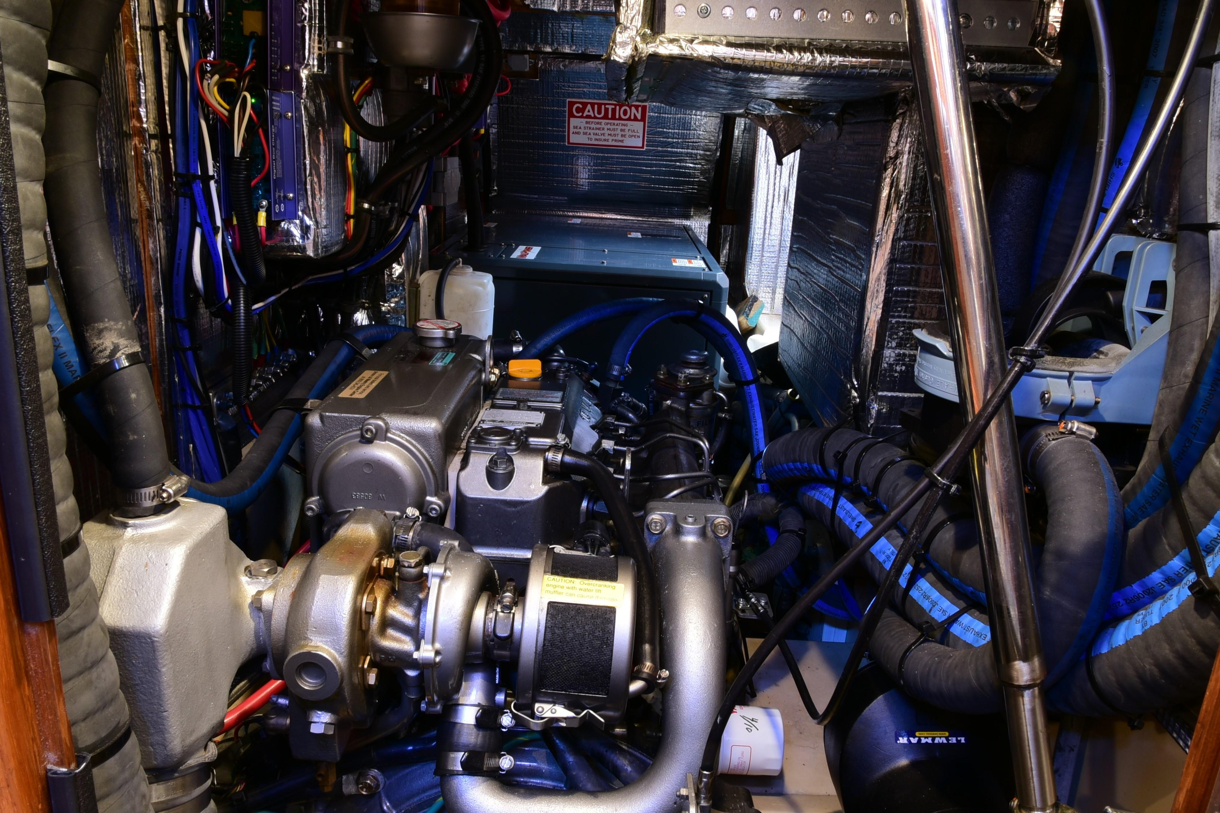ENGINE ROOM REAR ACCESS