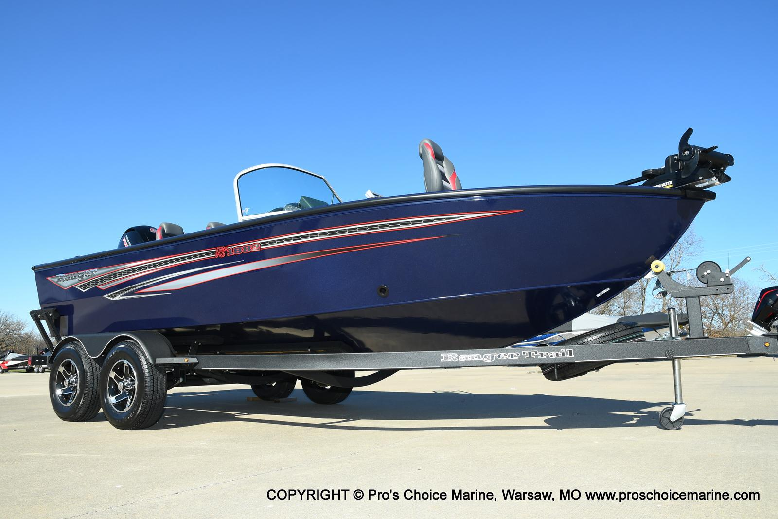 2021 Ranger Boats boat for sale, model of the boat is VS1882 w/150HP Mercury Pro-XS 4 Stroke & Image # 1 of 50