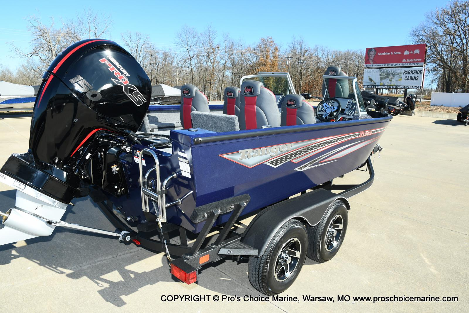 2021 Ranger Boats boat for sale, model of the boat is VS1882 w/150HP Mercury Pro-XS 4 Stroke & Image # 26 of 50