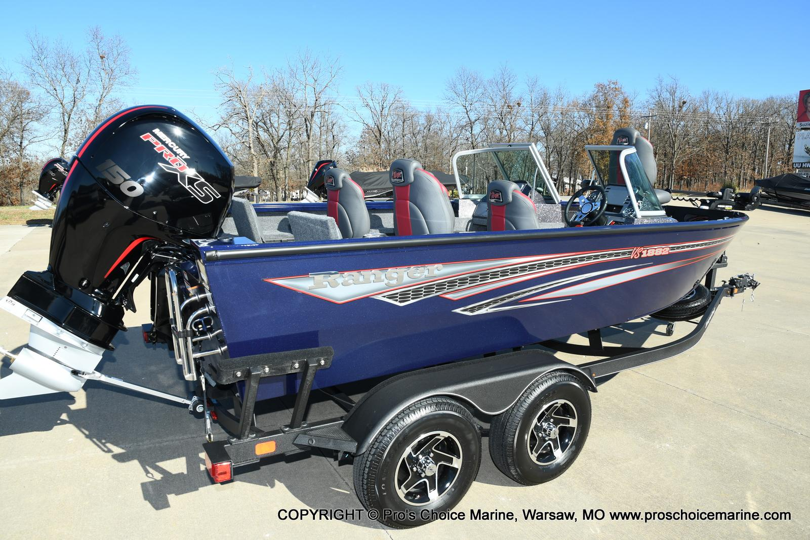 2021 Ranger Boats boat for sale, model of the boat is VS1882 w/150HP Mercury Pro-XS 4 Stroke & Image # 27 of 50