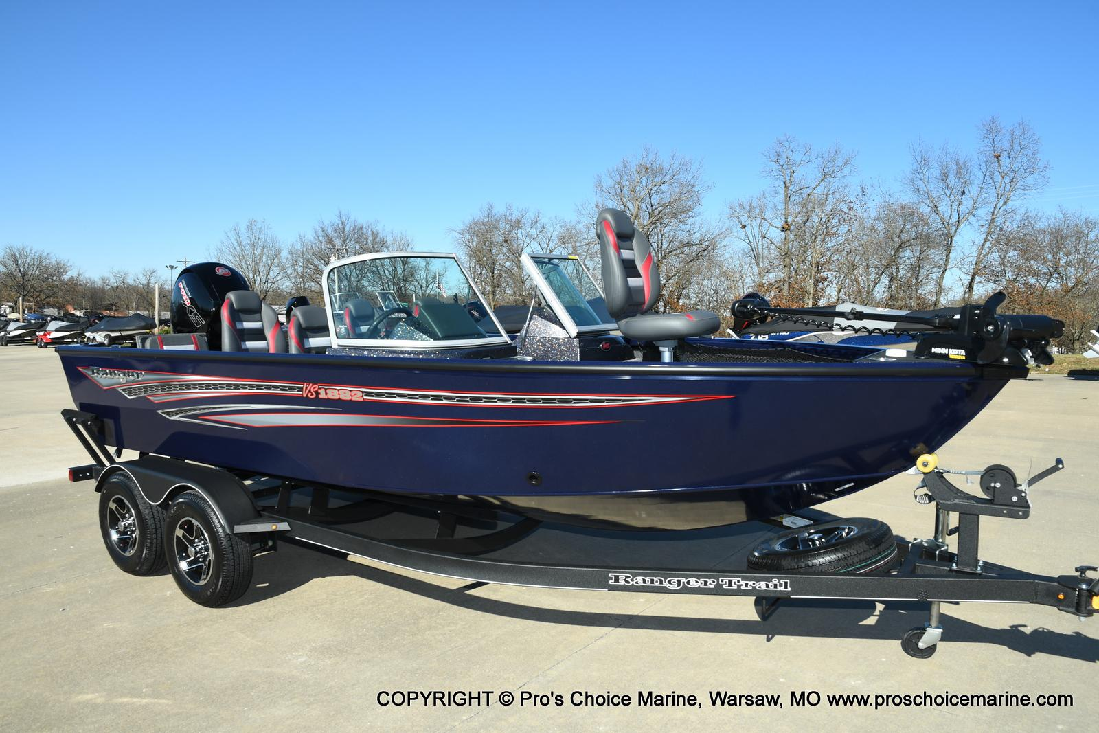 2021 Ranger Boats boat for sale, model of the boat is VS1882 w/150HP Mercury Pro-XS 4 Stroke & Image # 40 of 50