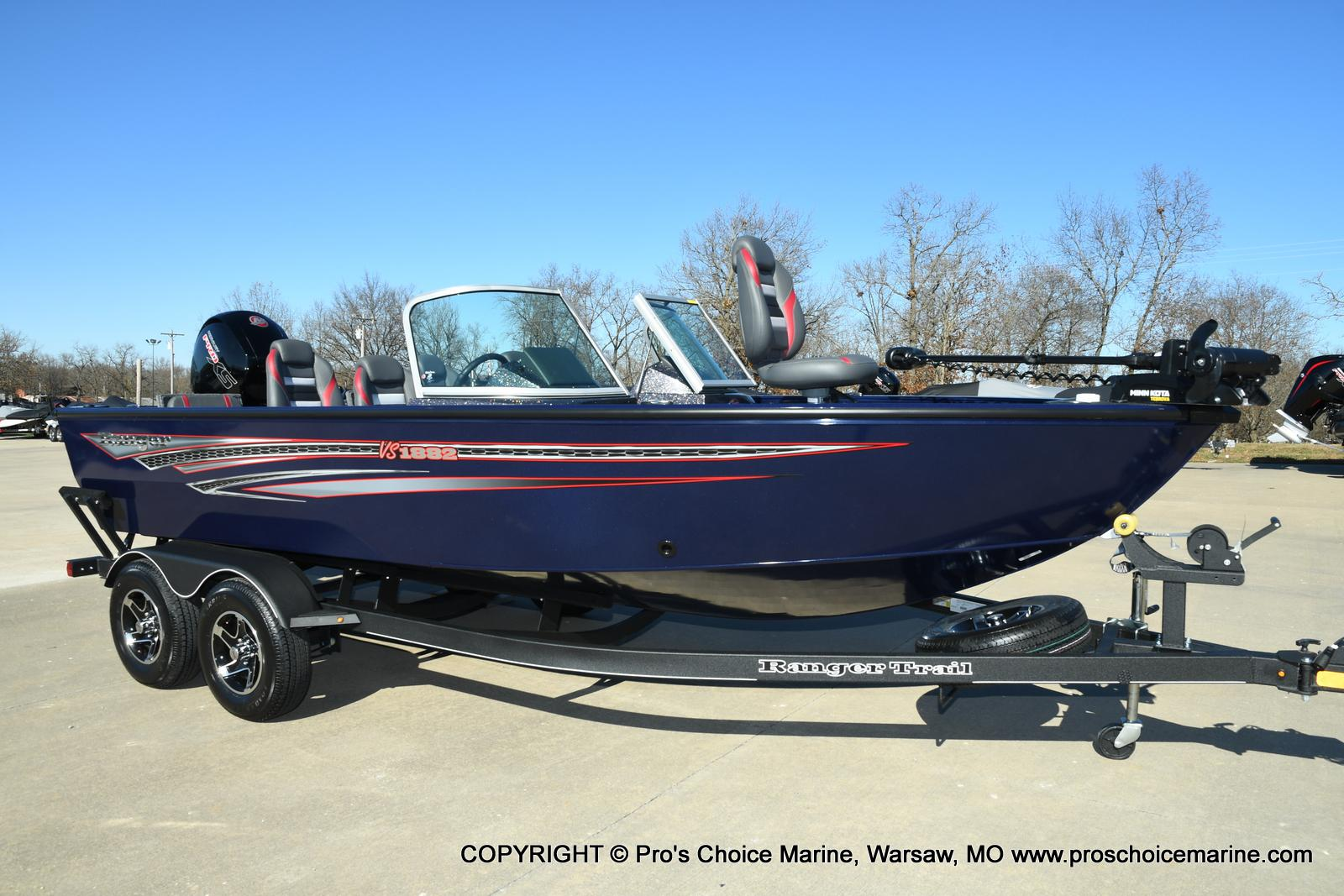 2021 Ranger Boats boat for sale, model of the boat is VS1882 w/150HP Mercury Pro-XS 4 Stroke & Image # 41 of 50