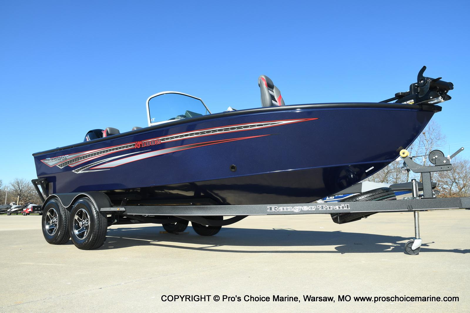 2021 Ranger Boats boat for sale, model of the boat is VS1882 w/150HP Mercury Pro-XS 4 Stroke & Image # 42 of 50