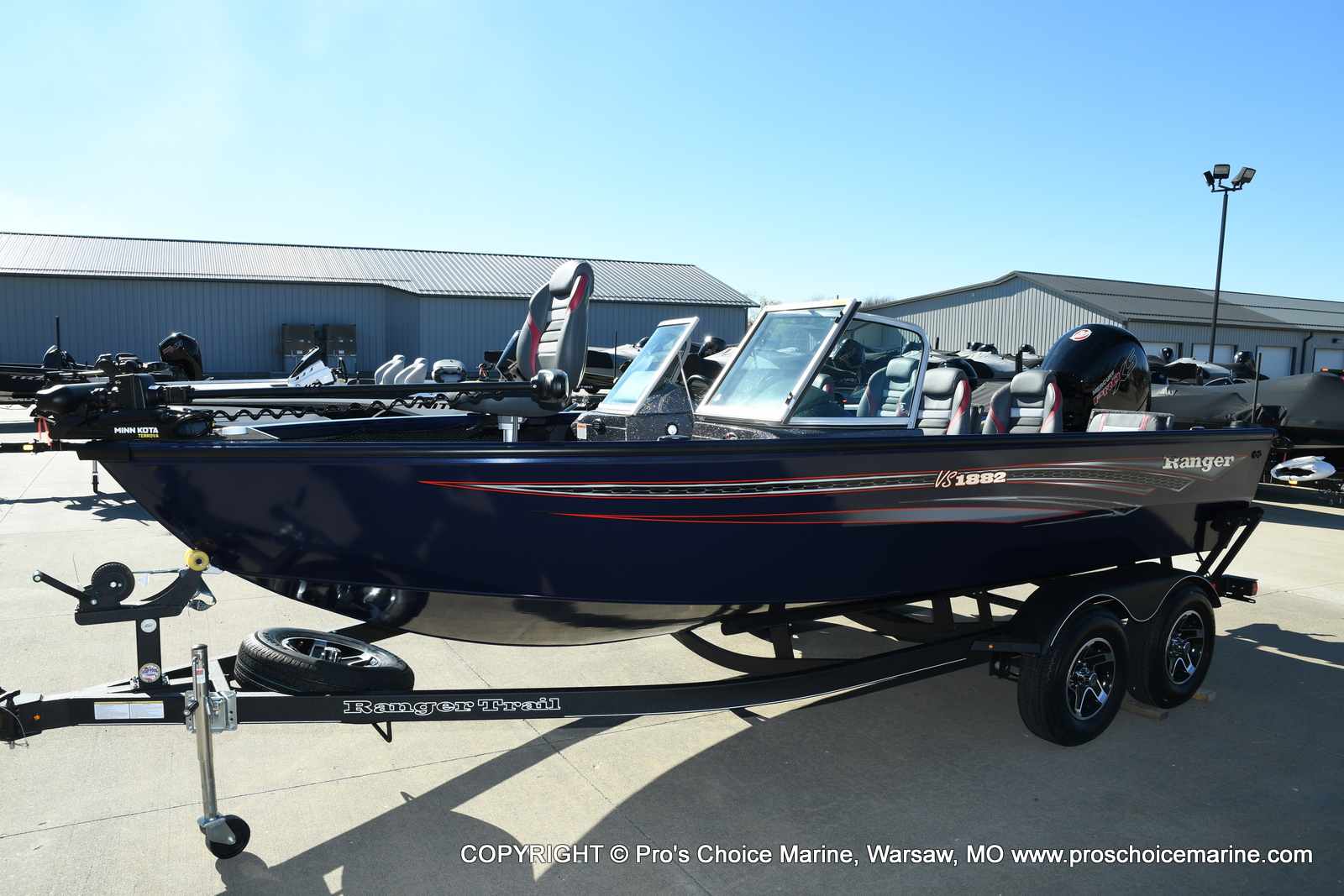 2021 Ranger Boats boat for sale, model of the boat is VS1882 w/150HP Mercury Pro-XS 4 Stroke & Image # 4 of 50