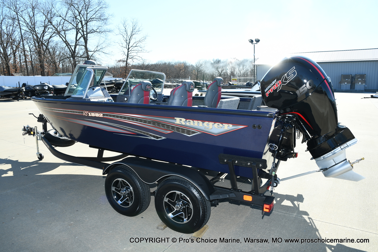 2021 Ranger Boats boat for sale, model of the boat is VS1882 w/150HP Mercury Pro-XS 4 Stroke & Image # 45 of 50