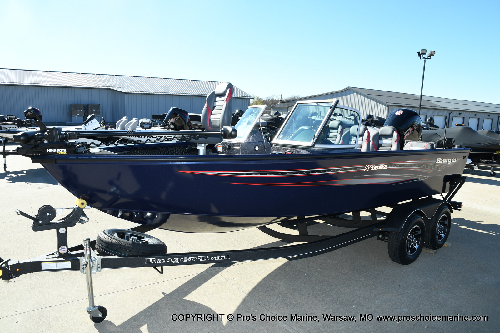 2021 Ranger Boats boat for sale, model of the boat is VS1882 w/150HP Mercury Pro-XS 4 Stroke & Image # 46 of 50