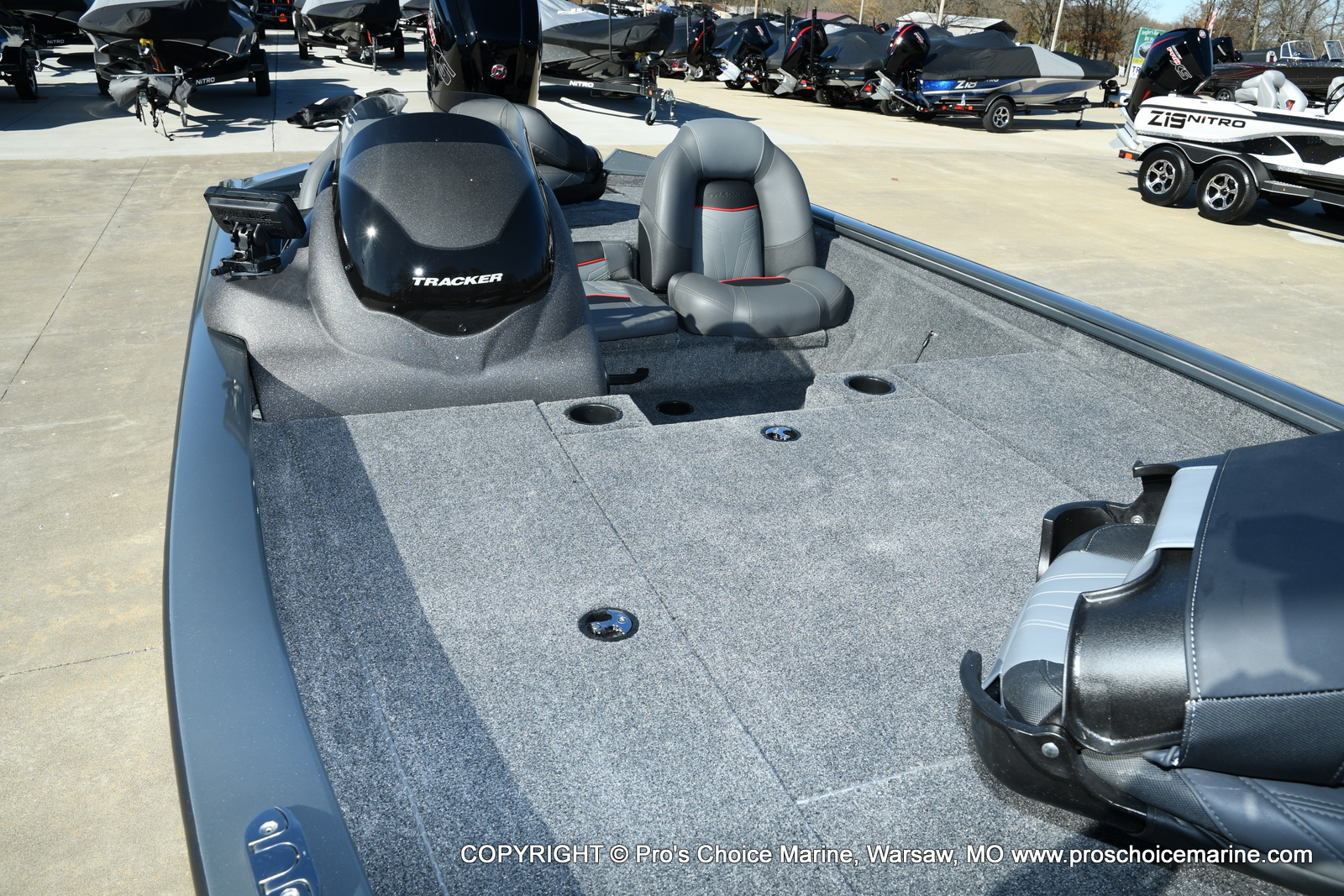 2021 Tracker Boats boat for sale, model of the boat is Pro Team 190 TX & Image # 14 of 50