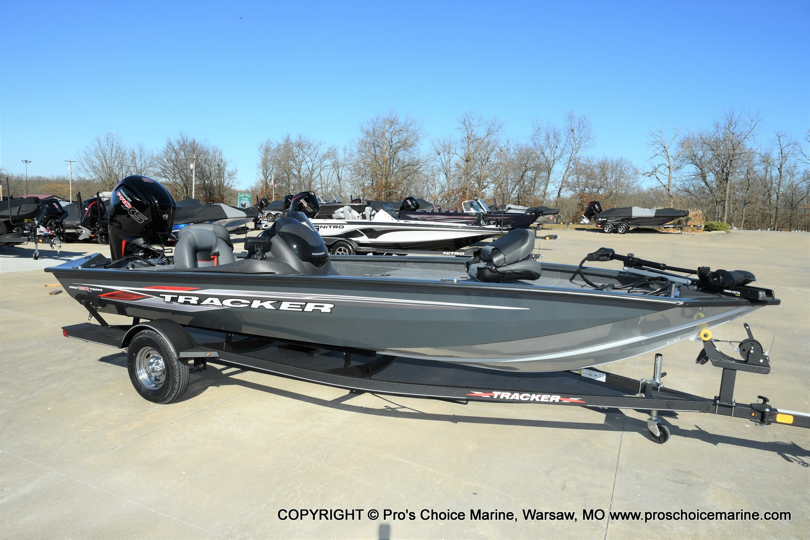 2021 Tracker Boats boat for sale, model of the boat is Pro Team 190 TX & Image # 20 of 50