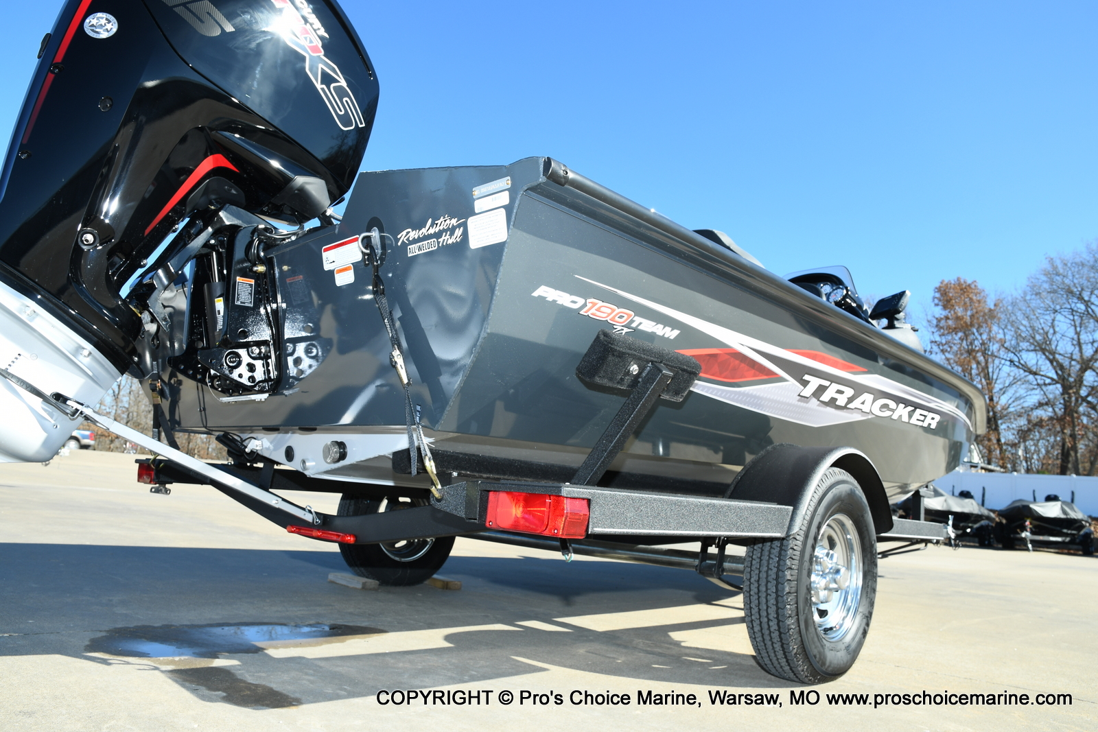 2021 Tracker Boats boat for sale, model of the boat is Pro Team 190 TX & Image # 22 of 50