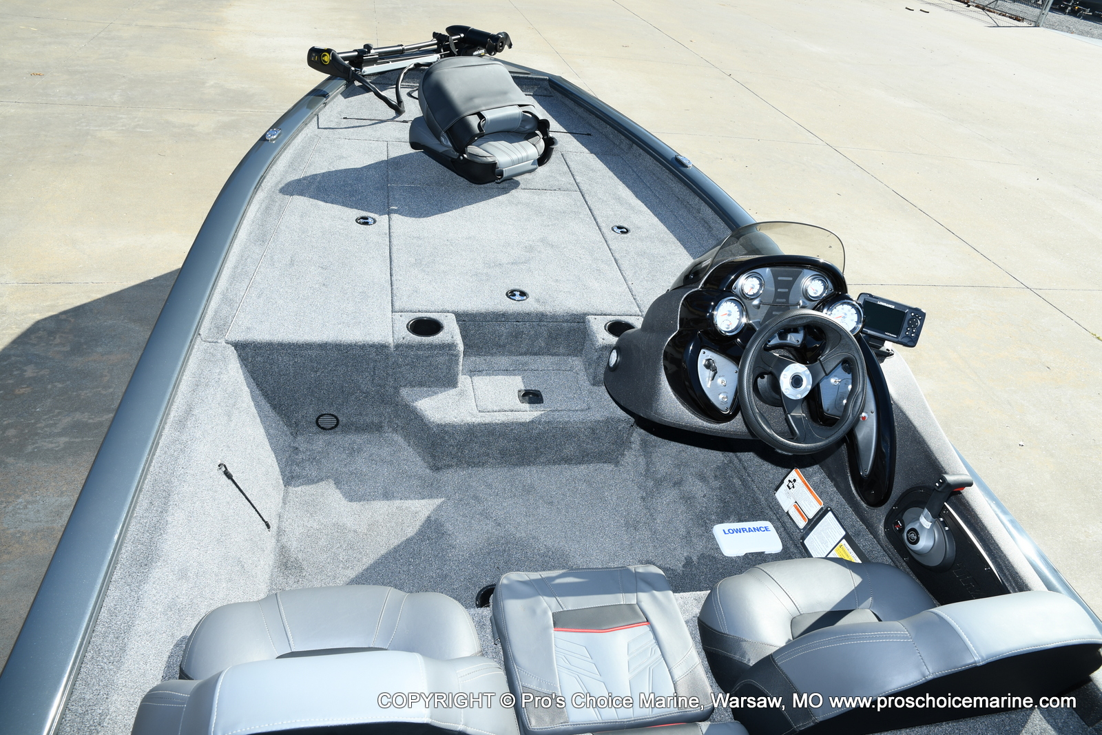 2021 Tracker Boats boat for sale, model of the boat is Pro Team 190 TX & Image # 27 of 50