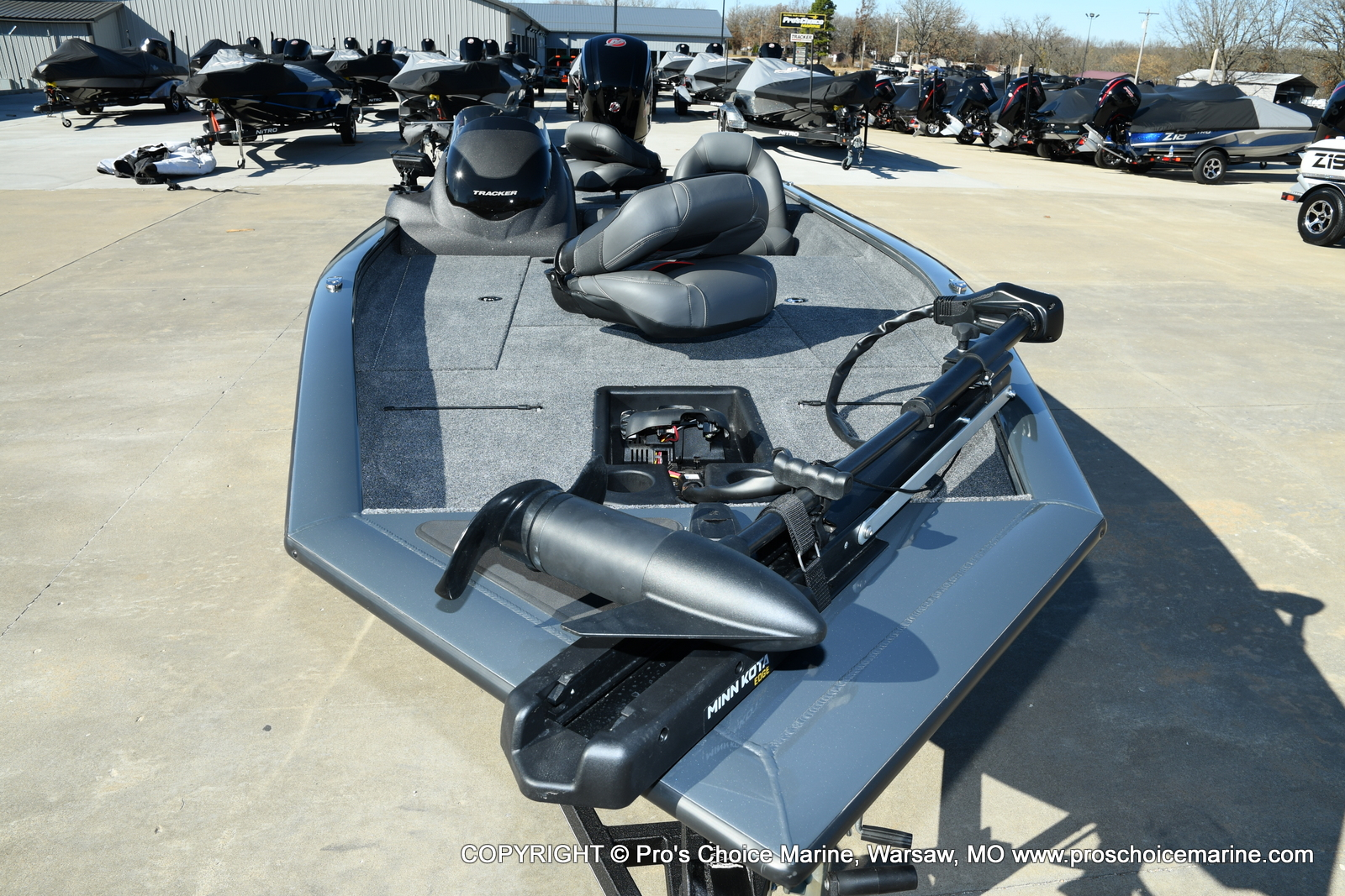 2021 Tracker Boats boat for sale, model of the boat is Pro Team 190 TX & Image # 3 of 50