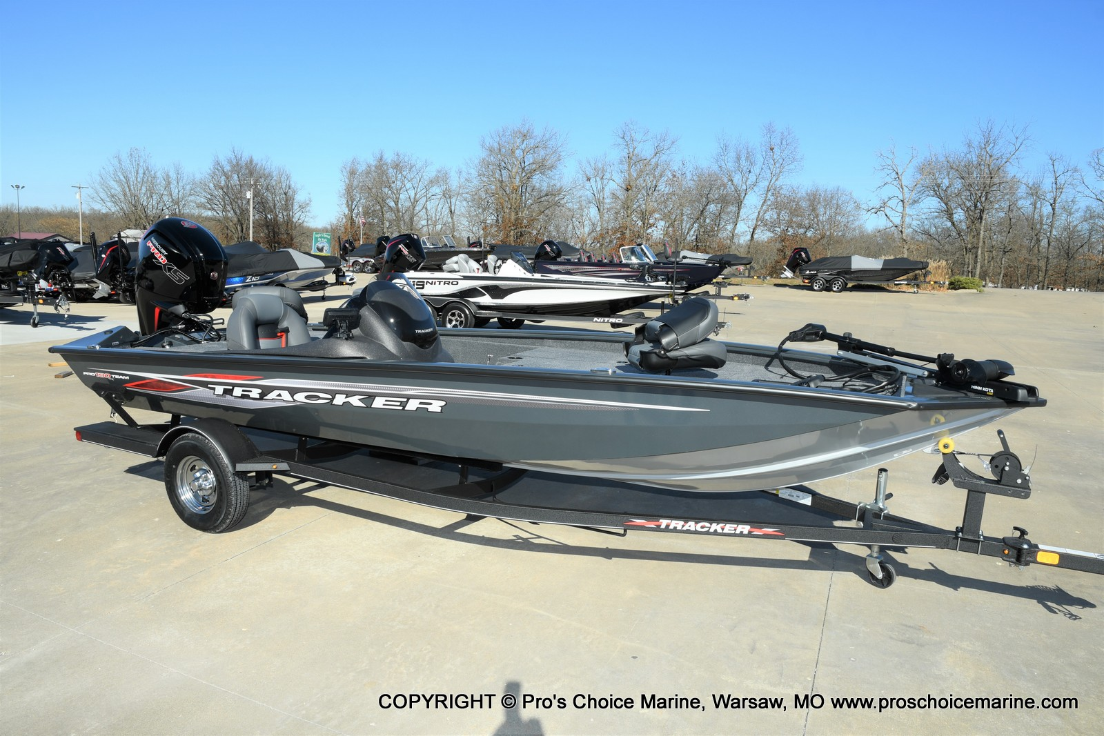 2021 Tracker Boats boat for sale, model of the boat is Pro Team 190 TX & Image # 34 of 50