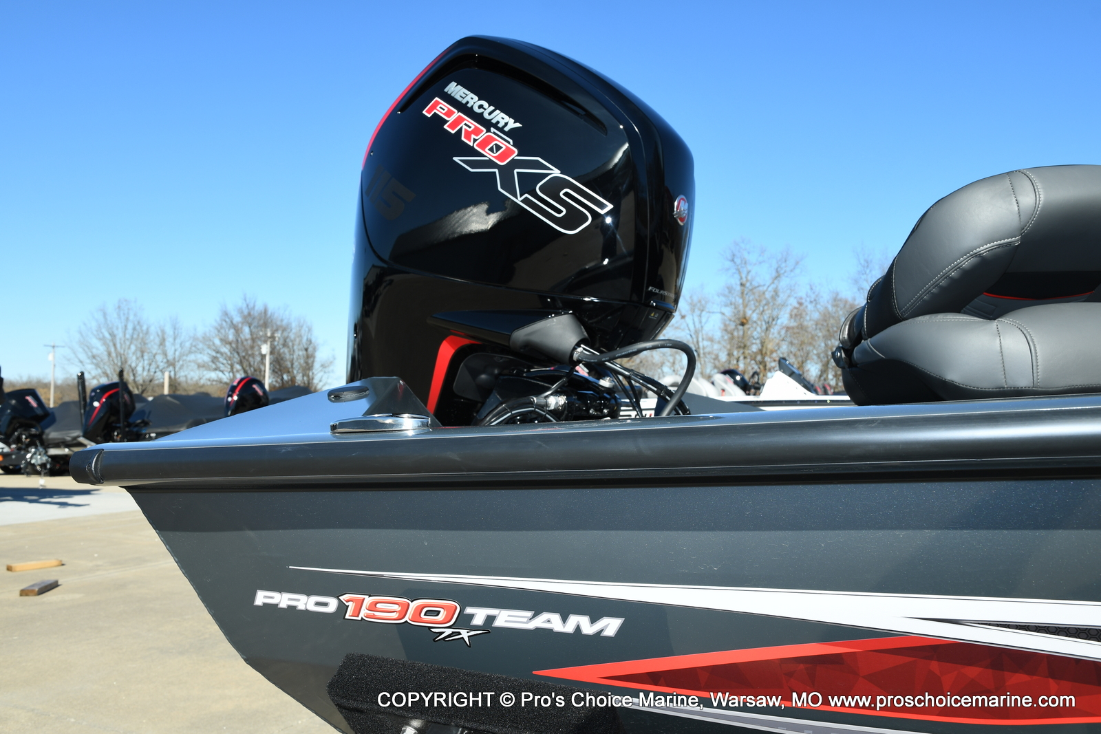 2021 Tracker Boats boat for sale, model of the boat is Pro Team 190 TX & Image # 36 of 50