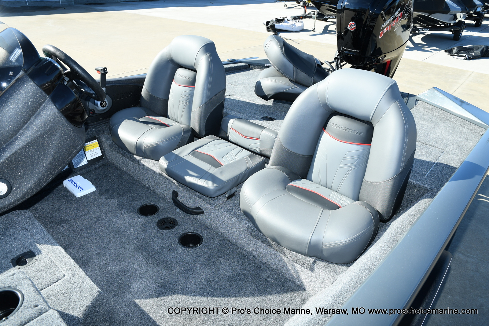 2021 Tracker Boats boat for sale, model of the boat is Pro Team 190 TX & Image # 41 of 50