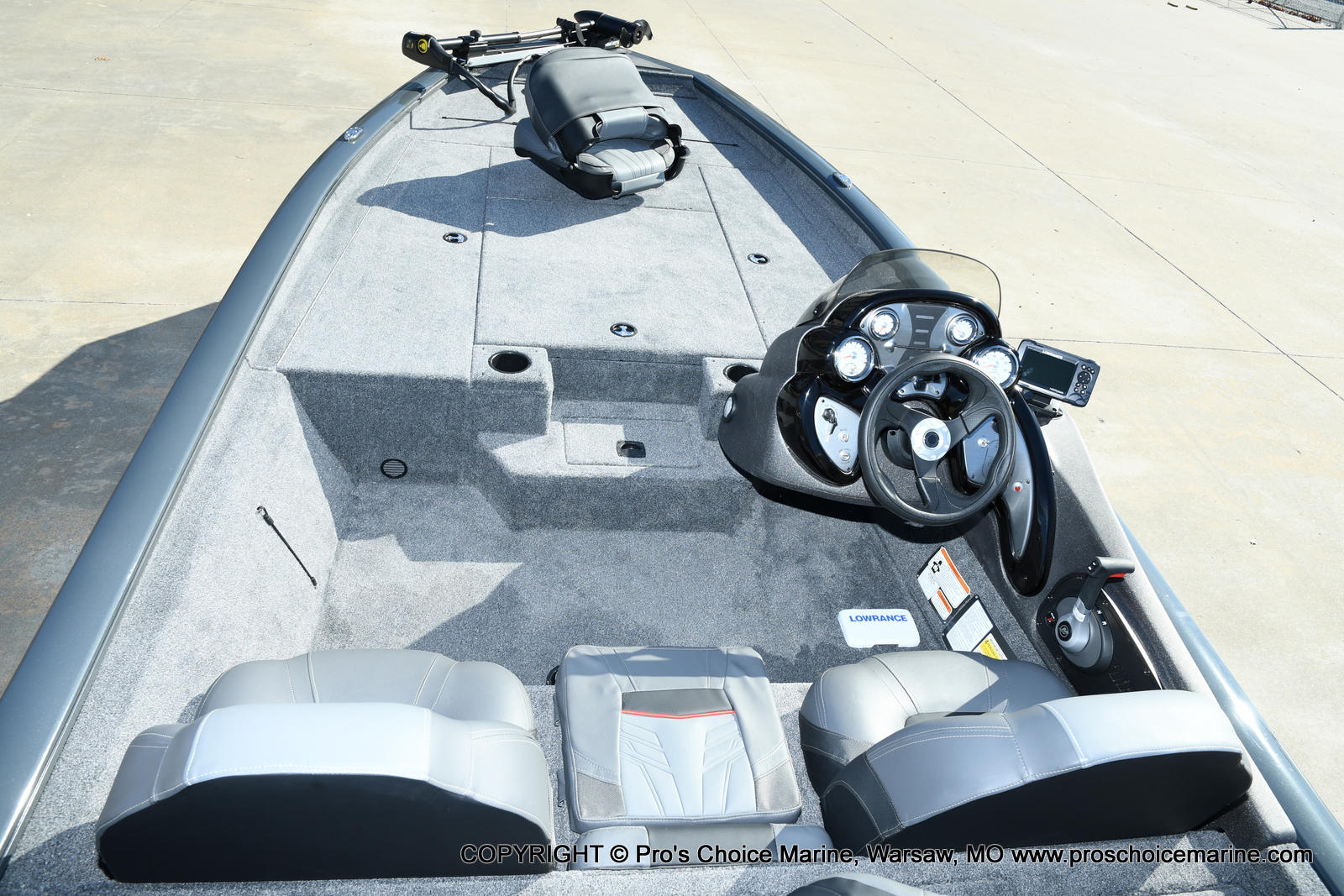 2021 Tracker Boats boat for sale, model of the boat is Pro Team 190 TX & Image # 42 of 50
