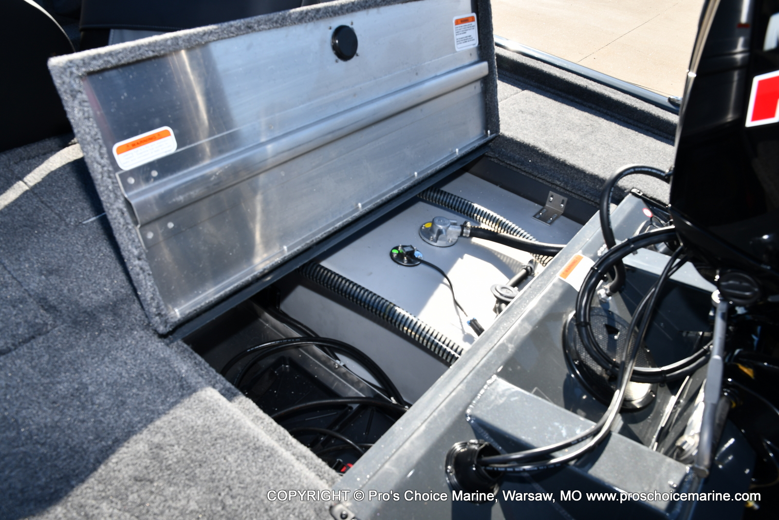 2021 Tracker Boats boat for sale, model of the boat is Pro Team 190 TX & Image # 50 of 50
