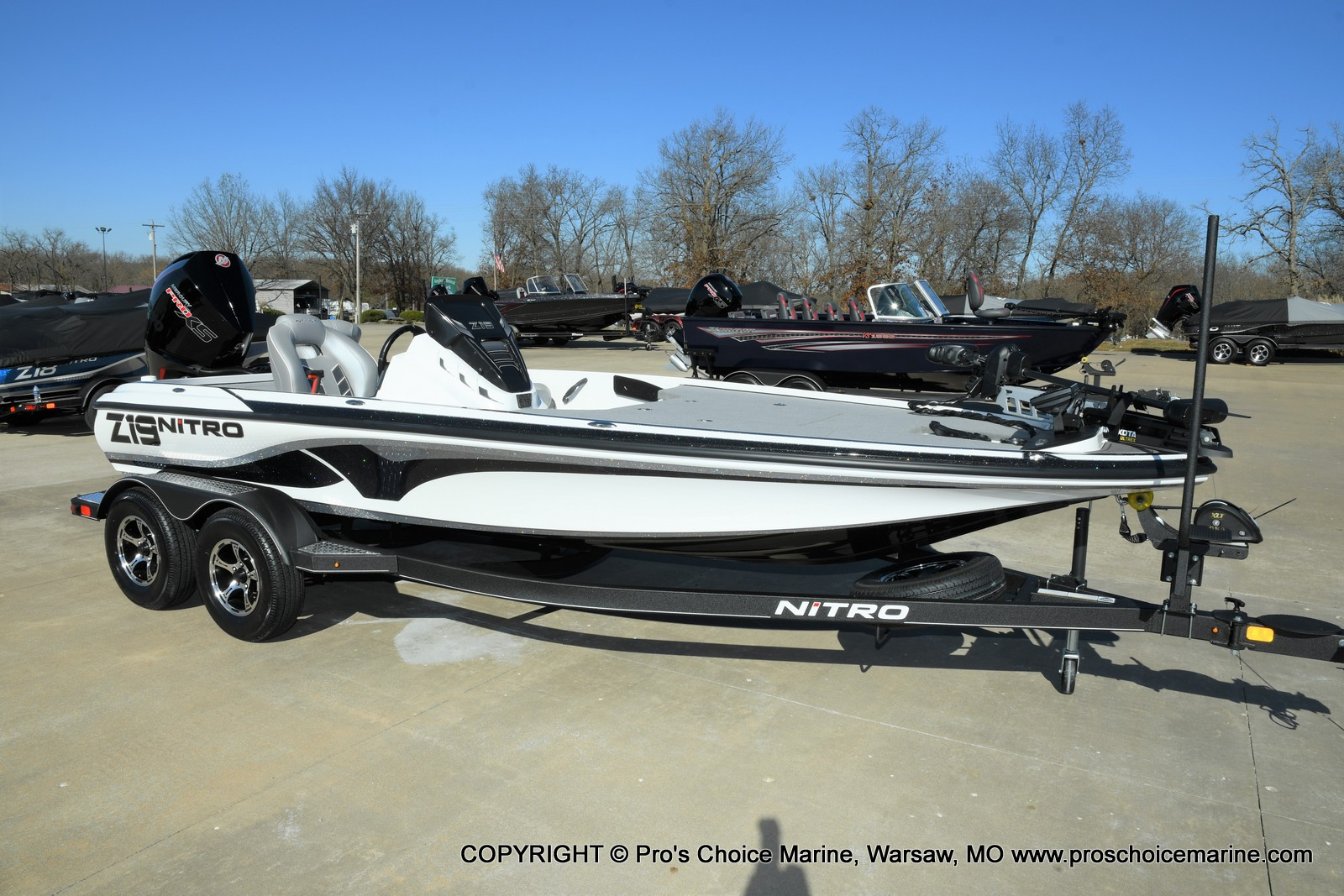 2021 Nitro boat for sale, model of the boat is Z19 pro package & Image # 15 of 50