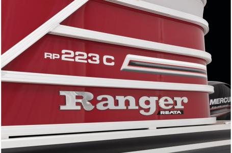 2021 Ranger Boats boat for sale, model of the boat is Reata 223CR & Image # 35 of 38