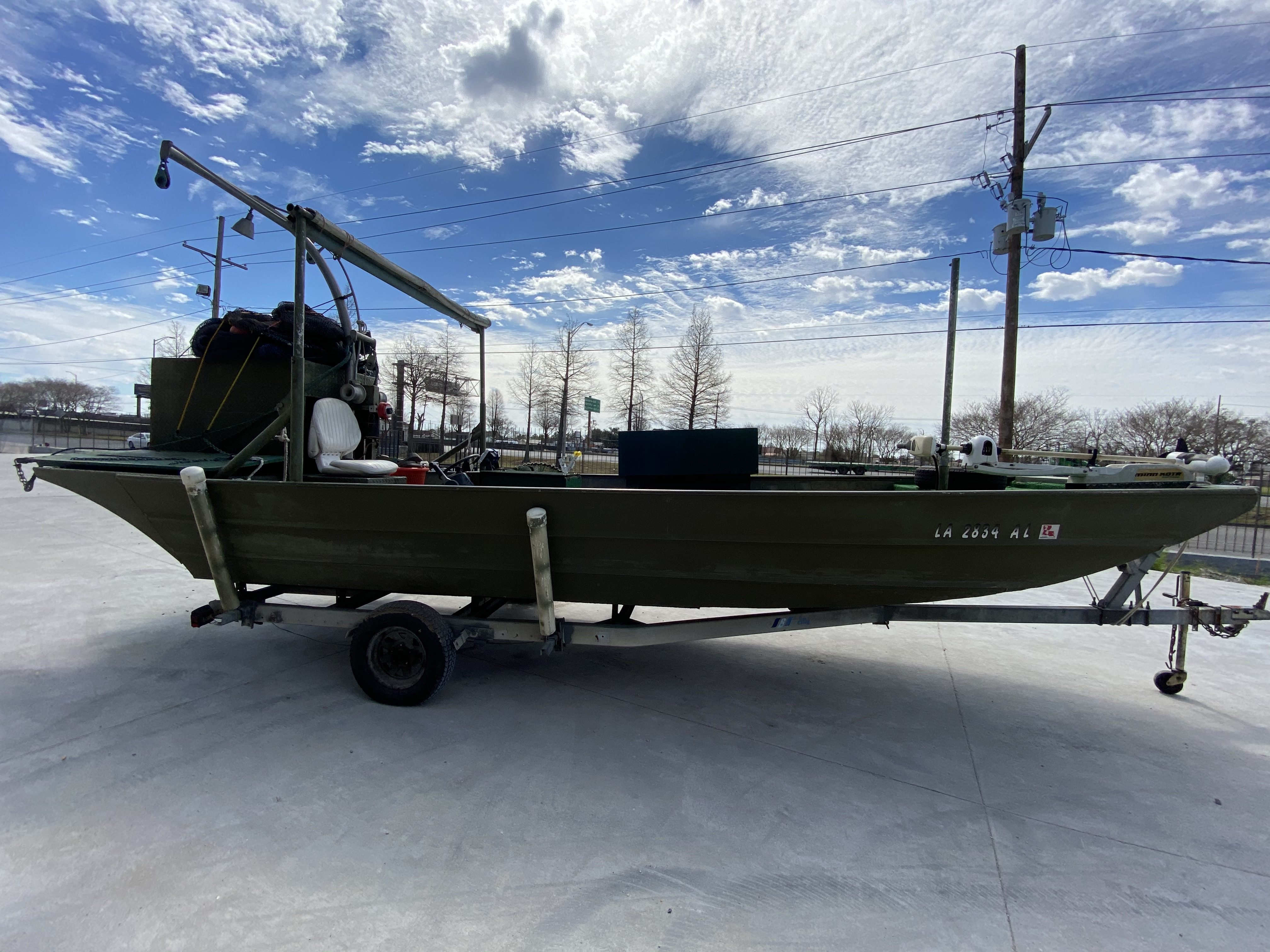 1980 Alumaweld boat for sale, model of the boat is 20 ft & Image # 5 of 14