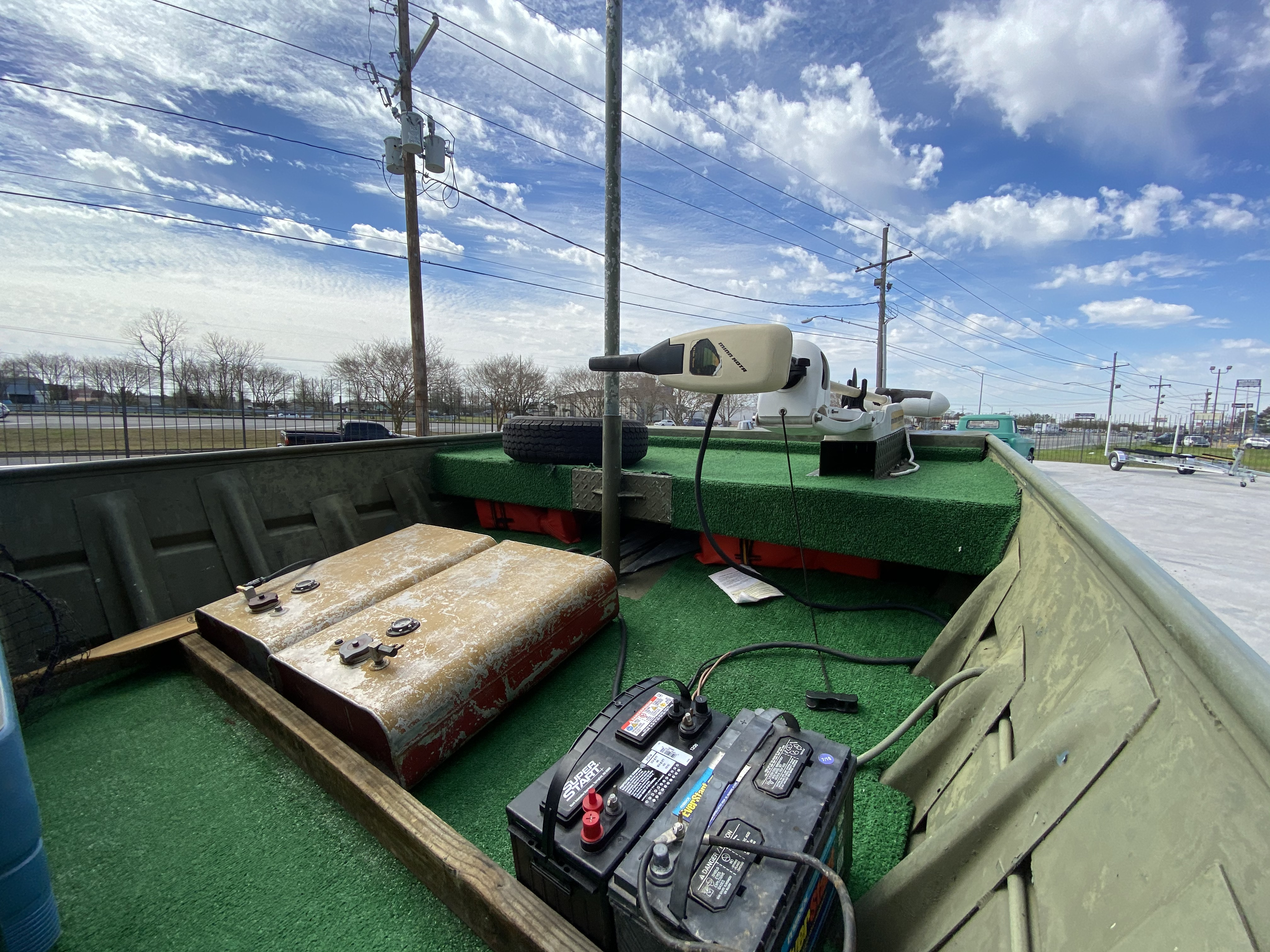 1980 Alumaweld boat for sale, model of the boat is 20 ft & Image # 7 of 14