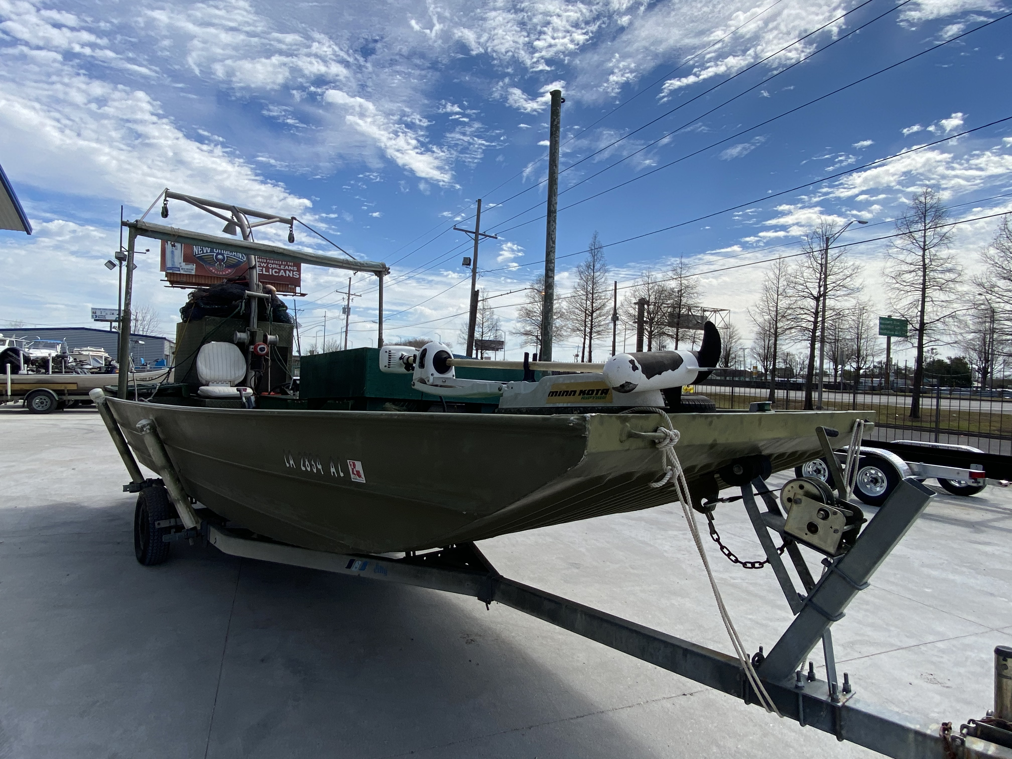 1980 Alumaweld boat for sale, model of the boat is 20 ft & Image # 9 of 14