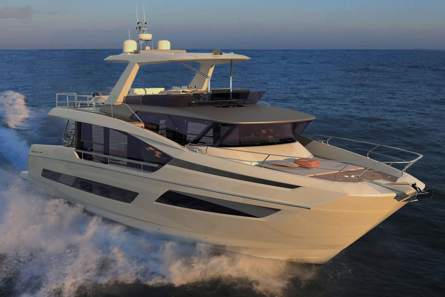 2022 Prestige X70 #75880 inventory image at Sun Country Coastal in Newport Beach