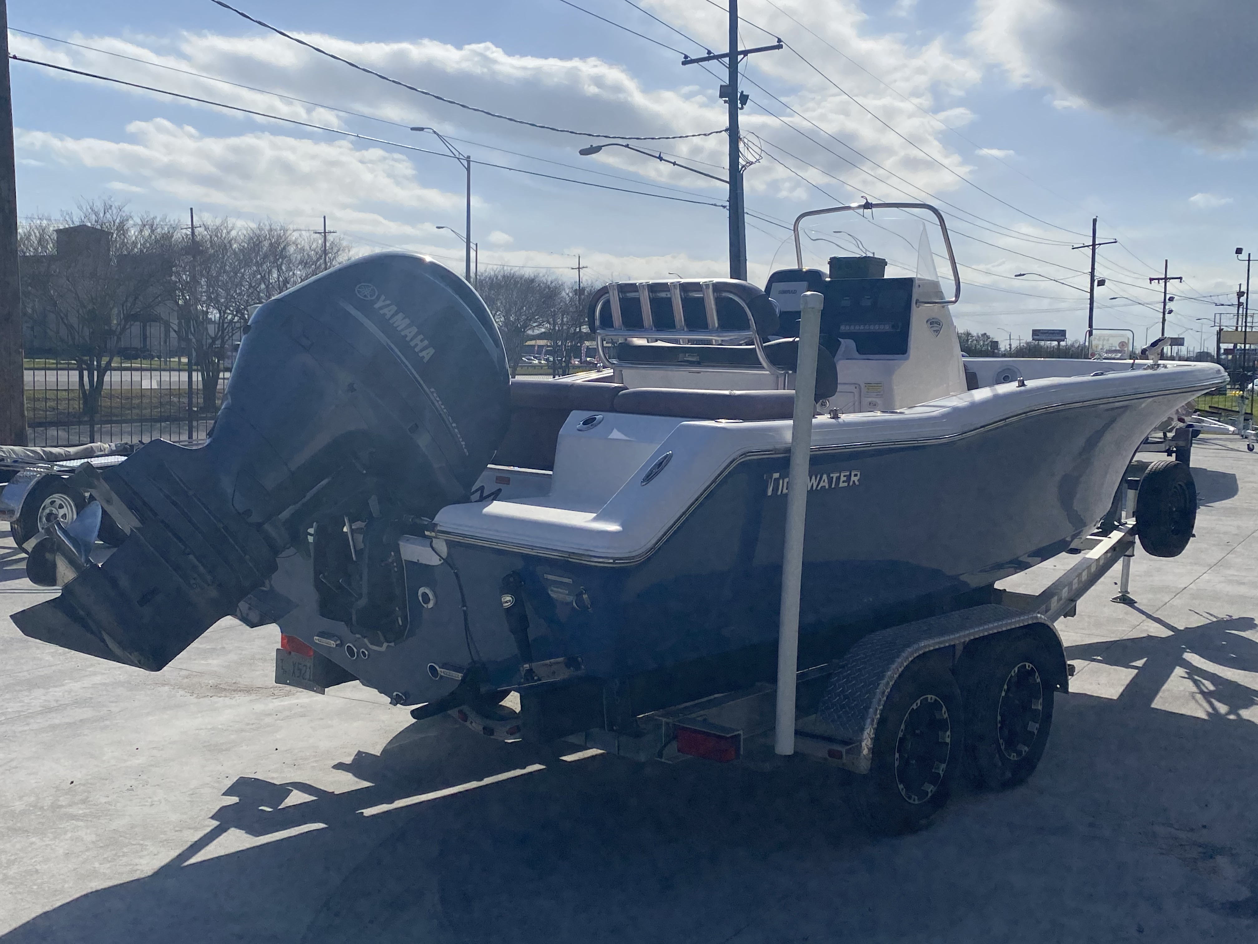 2017 Tidewater boat for sale, model of the boat is 210 & Image # 2 of 19