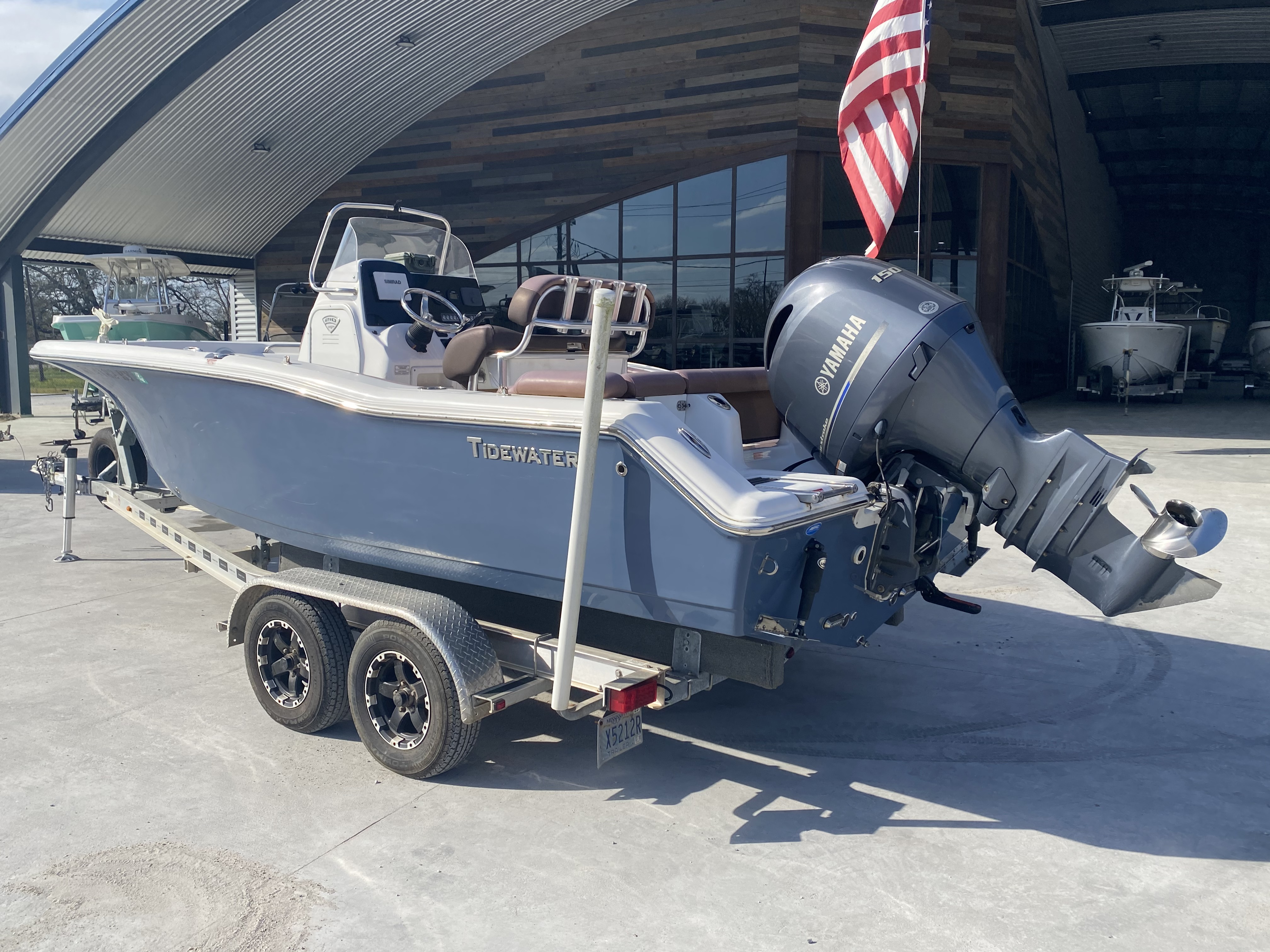 2017 Tidewater boat for sale, model of the boat is 210 & Image # 10 of 19