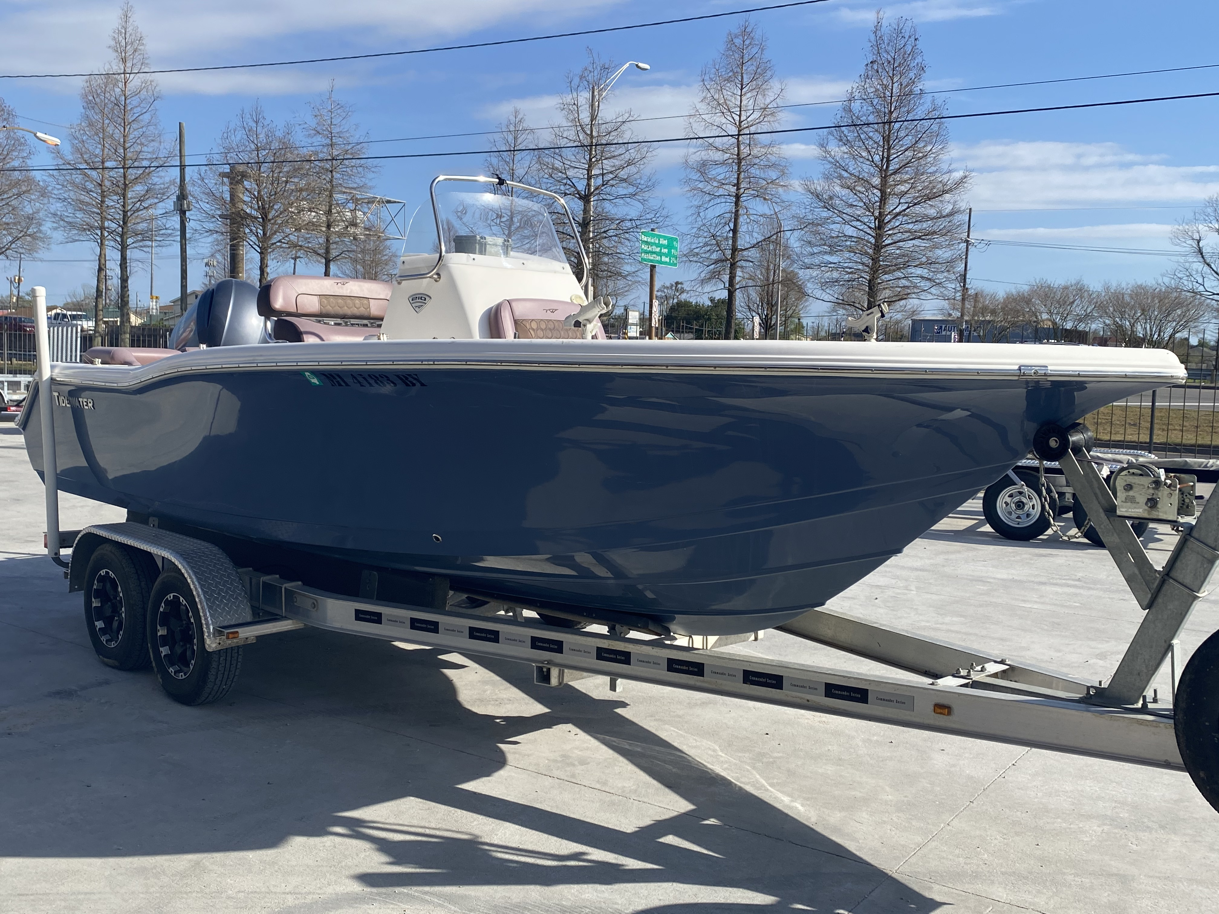 2017 Tidewater boat for sale, model of the boat is 210 & Image # 11 of 19