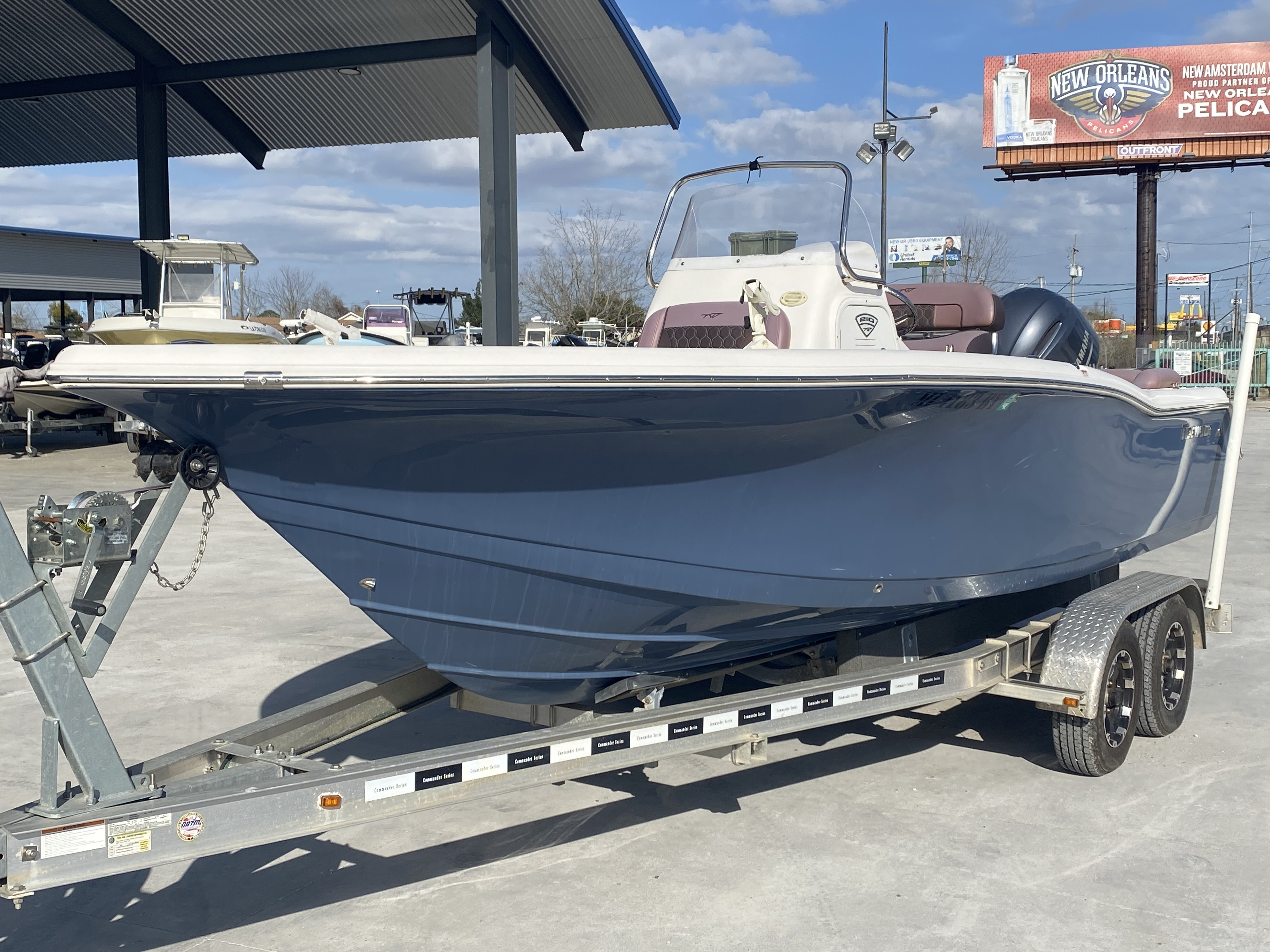 2017 Tidewater boat for sale, model of the boat is 210 & Image # 12 of 19