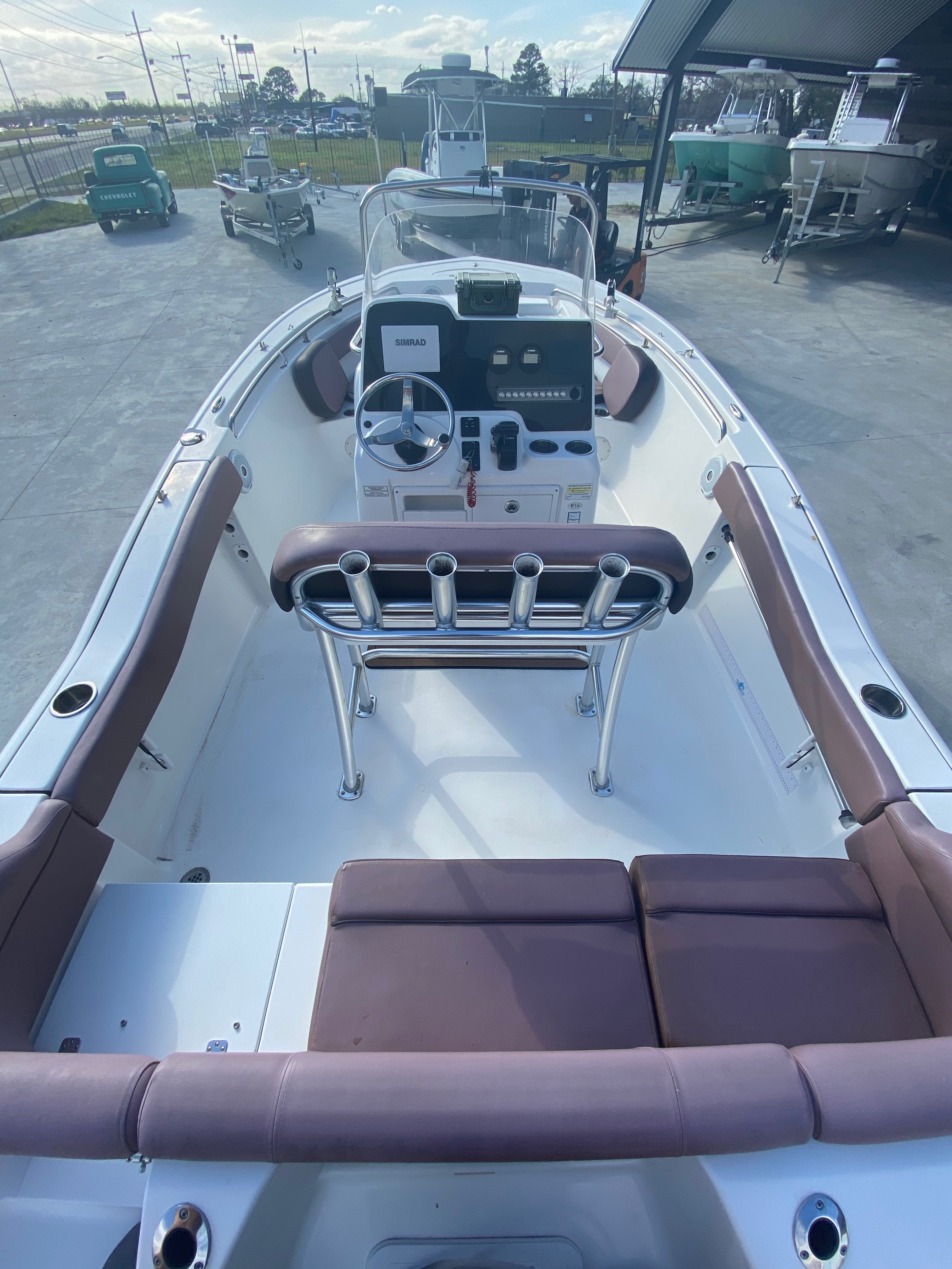 2017 Tidewater boat for sale, model of the boat is 210 & Image # 16 of 19