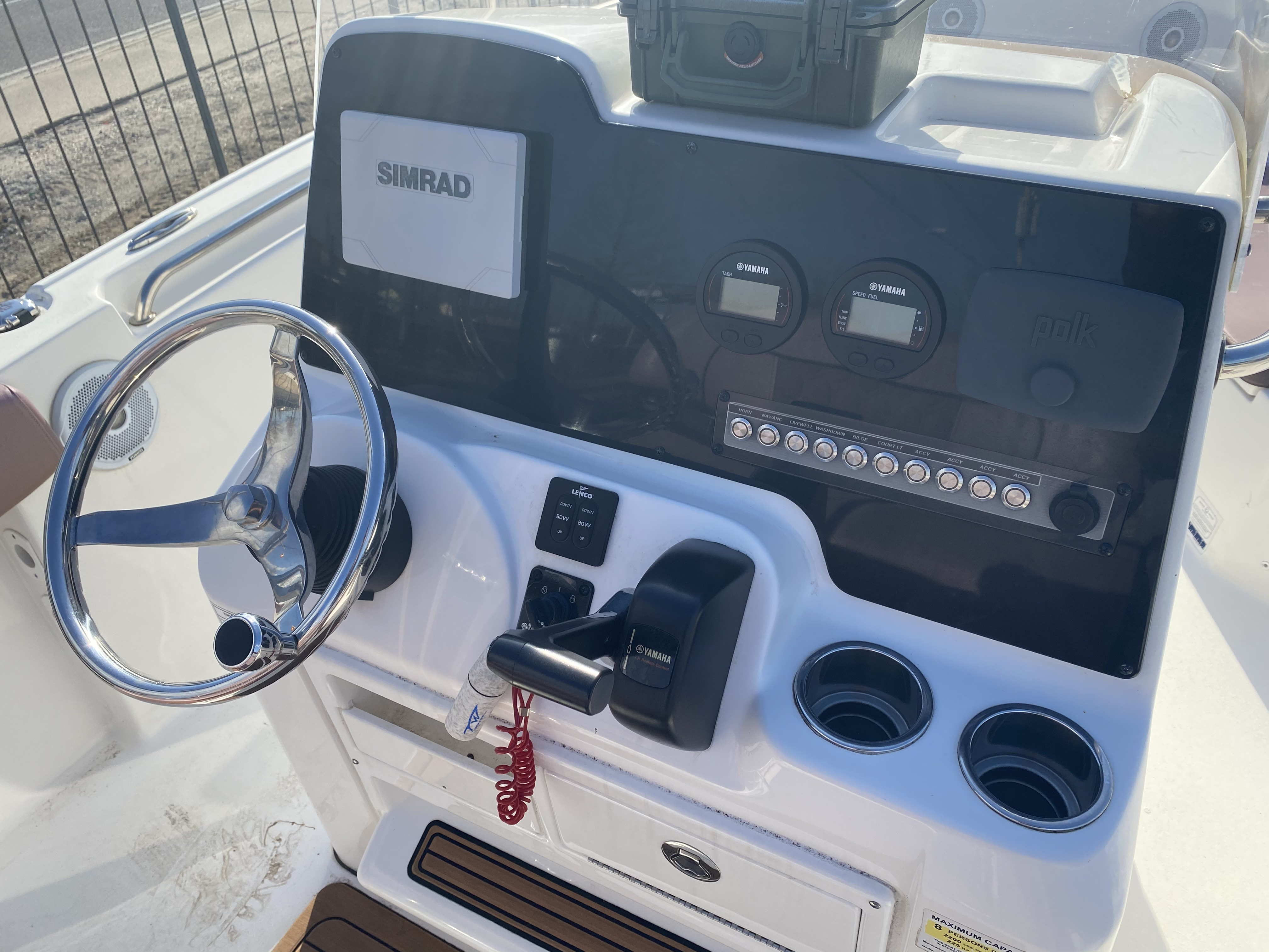 2017 Tidewater boat for sale, model of the boat is 210 & Image # 9 of 19