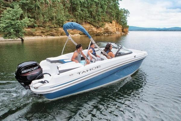 2021 Tahoe boat for sale, model of the boat is 450 TS & Image # 2 of 60