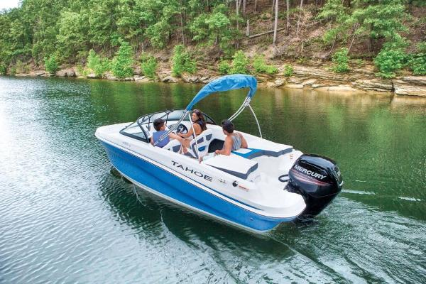 2021 Tahoe boat for sale, model of the boat is 450 TS & Image # 3 of 60