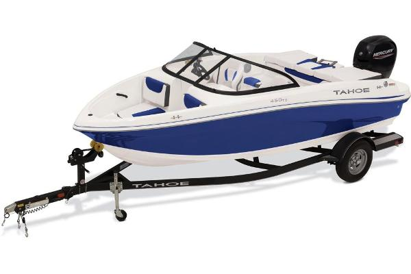 2021 Tahoe boat for sale, model of the boat is 450 TS & Image # 13 of 60