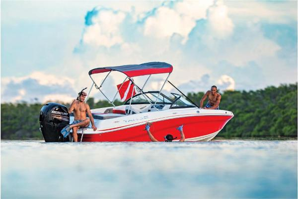 2021 Tahoe boat for sale, model of the boat is 550 TS & Image # 2 of 67
