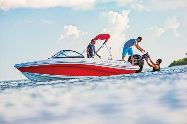 2021 Tahoe boat for sale, model of the boat is 550 TS & Image # 5 of 67
