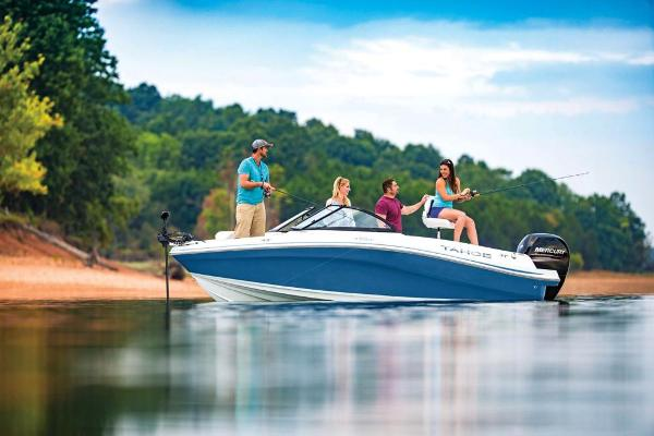 2021 Tahoe boat for sale, model of the boat is 450 TF & Image # 2 of 58
