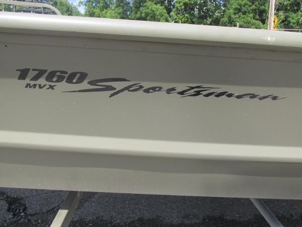2016 Tracker Boats boat for sale, model of the boat is 1760 MVX Sportsman & Image # 9 of 9