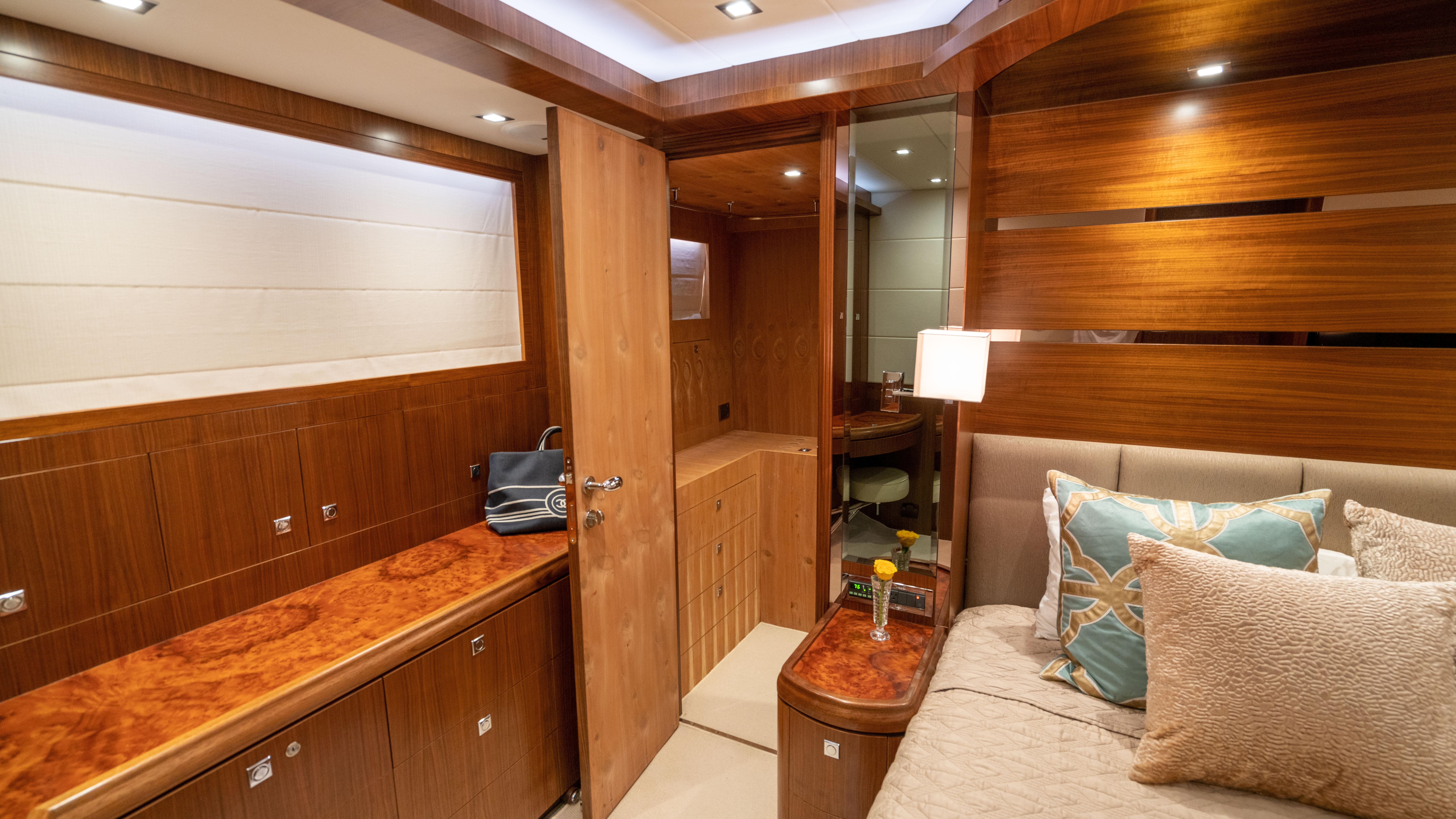 Master stateroom, closest 1
