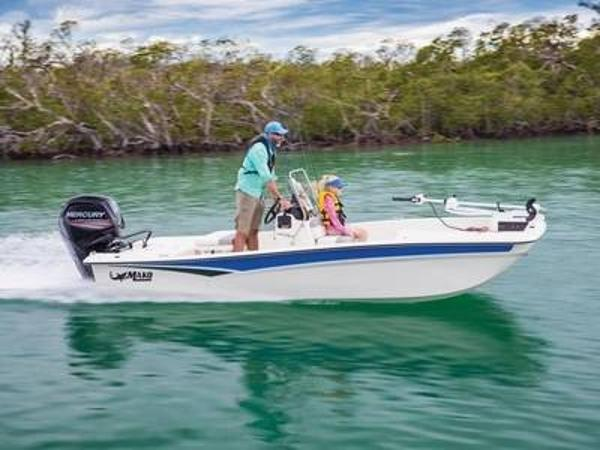 2020 Mako boat for sale, model of the boat is Pro Skiff 17 CC & Image # 1 of 1