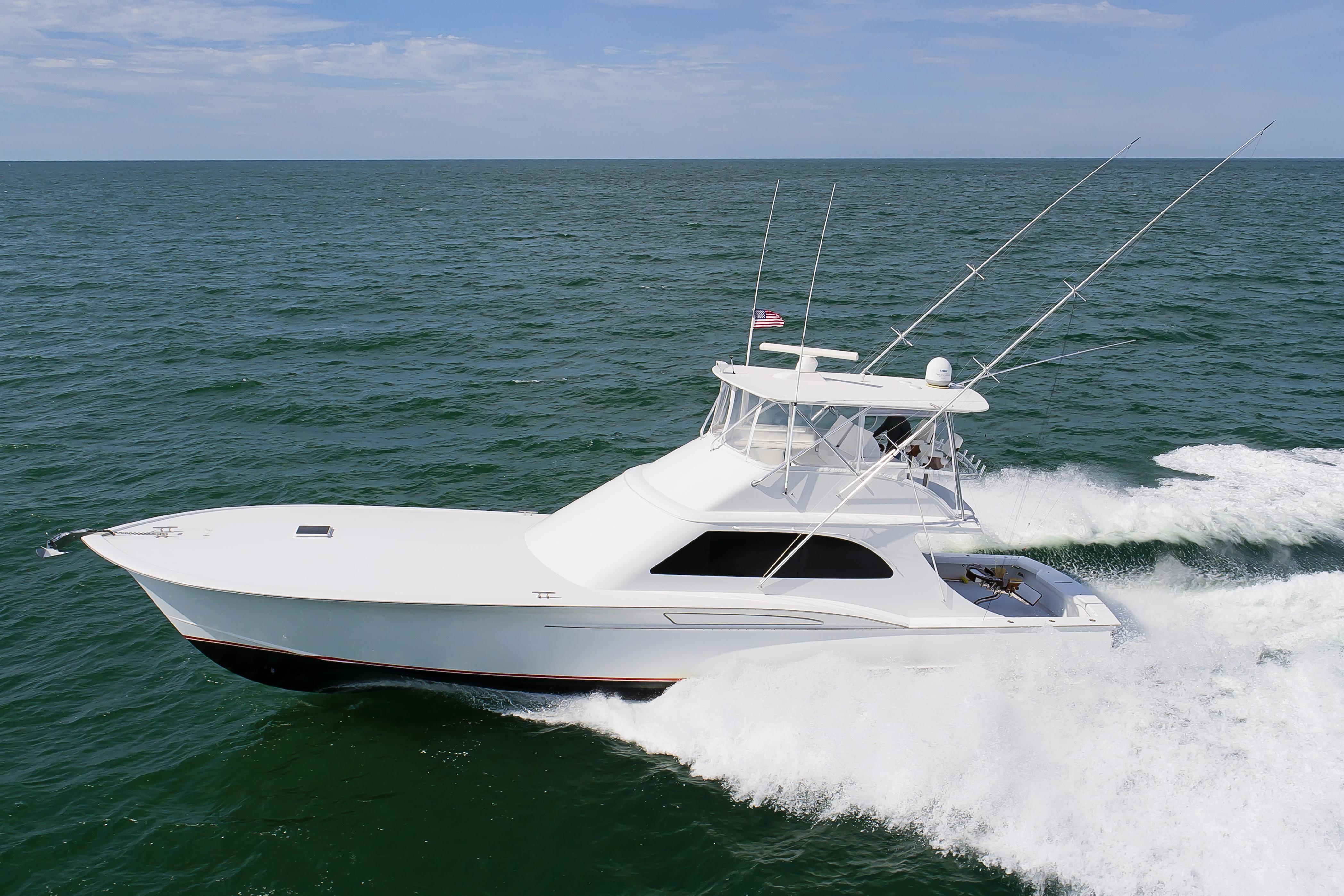 2017 Jamie Chadwick Boats Custom Carolina Sport Fishing Convertible